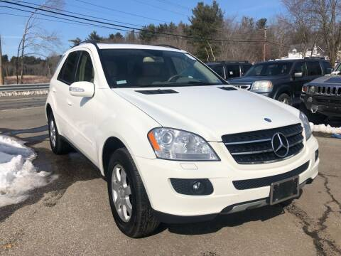 2007 Mercedes-Benz M-Class for sale at Royal Crest Motors in Haverhill MA