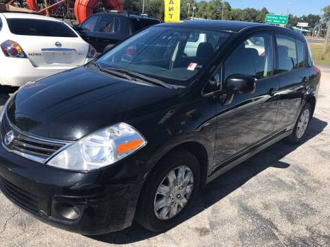2012 Nissan Versa for sale at Jack's Auto Sales in Port Richey FL