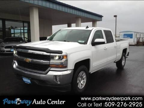2017 Chevrolet Silverado 1500 for sale at PARKWAY AUTO CENTER AND RV in Deer Park WA