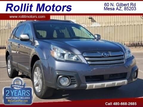 2014 Subaru Outback for sale at Rollit Motors in Mesa AZ