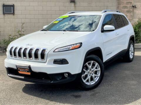 2017 Jeep Cherokee for sale at Somerville Motors in Somerville MA