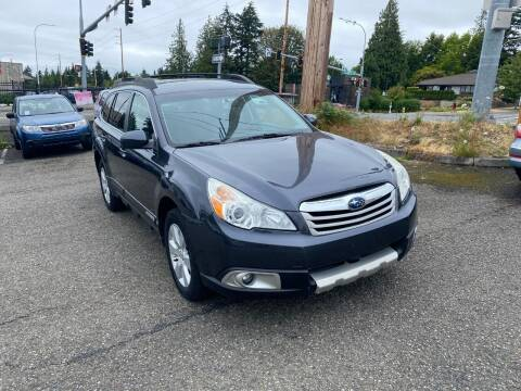 2010 Subaru Outback for sale at KARMA AUTO SALES in Federal Way WA