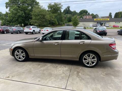 2009 Mercedes-Benz C-Class for sale at Family Auto Sales of Johnson City in Johnson City TN