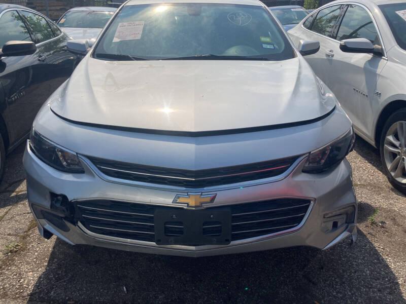 2016 Chevrolet Malibu for sale at ALL TEAM AUTO in Las Vegas NV