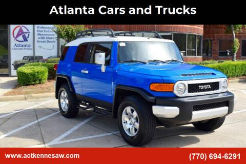 2007 Toyota FJ Cruiser for sale at Atlanta Cars and Trucks in Kennesaw GA