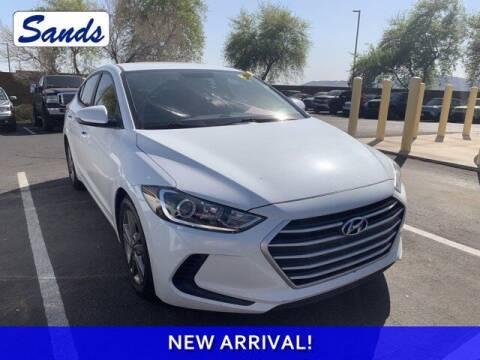 2017 Hyundai Elantra for sale at Sands Chevrolet in Surprise AZ