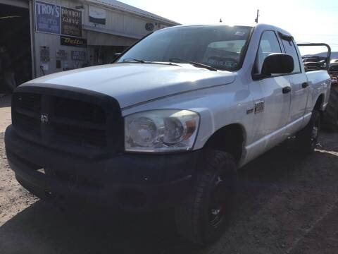 2008 Dodge Ram Pickup 2500 for sale at Troys Auto Sales in Dornsife PA