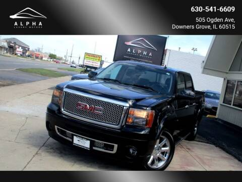 2010 GMC Sierra 1500 for sale at Alpha Luxury Motors in Downers Grove IL