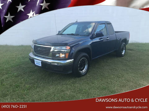 2011 GMC Canyon for sale at Dawsons Auto & Cycle in Glen Burnie MD
