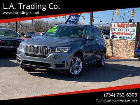 2014 BMW X5 for sale at L.A. Trading Co. Woodhaven in Woodhaven MI
