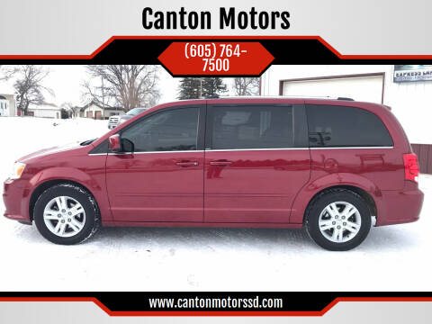 2011 Dodge Grand Caravan for sale at Canton Motors in Canton SD