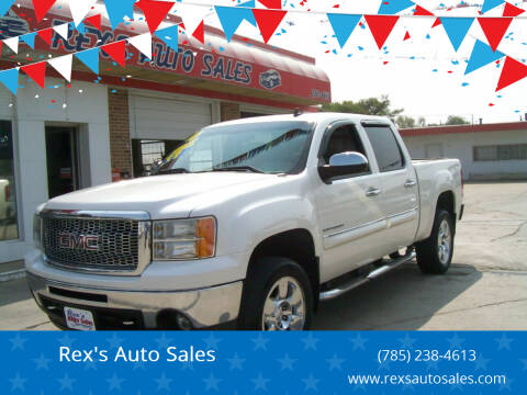 2010 GMC Sierra 1500 for sale at Rex's Auto Sales in Junction City KS