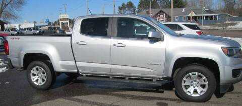 2017 Chevrolet Colorado for sale at The AUTOHAUS LLC in Tomahawk WI