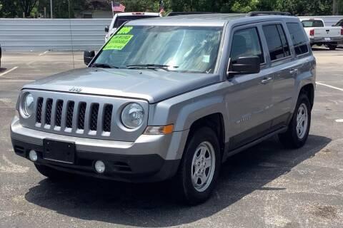 2016 Jeep Patriot for sale at Auto Plan in La Porte TX