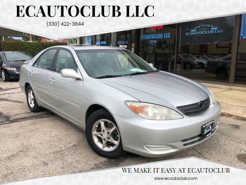 2002 Toyota Camry for sale at ECAUTOCLUB LLC in Kent OH