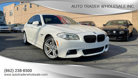 2012 BMW 5 Series for sale at Auto Trader Wholesale Inc in Saddle Brook NJ