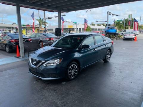 2016 Nissan Sentra for sale at American Auto Sales in Hialeah FL