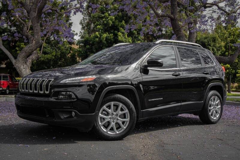 2018 Jeep Cherokee for sale at 605 Auto  Inc. in Bellflower CA