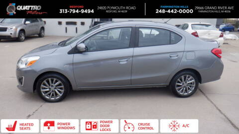 2018 Mitsubishi Mirage G4 for sale at Quattro Motors 2 - 1 in Redford MI