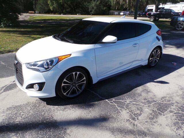 2016 Hyundai Veloster for sale at TIMBERLAND FORD in Perry FL