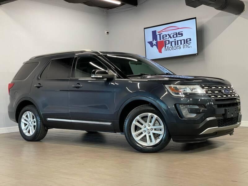 2017 Ford Explorer for sale at Texas Prime Motors in Houston TX