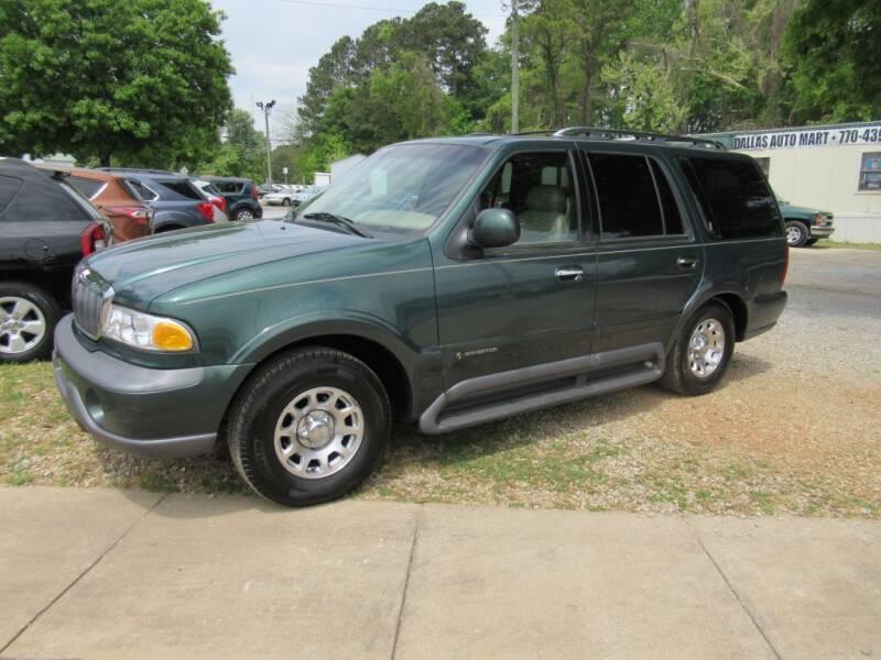 1998 Lincoln Navigator for sale at Dallas Auto Mart in Dallas GA
