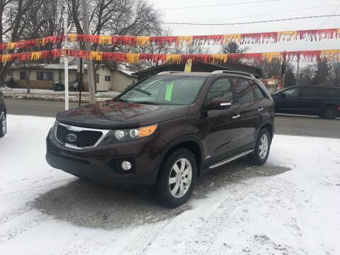 2012 Kia Sorento for sale at Antique Motors in Plymouth IN