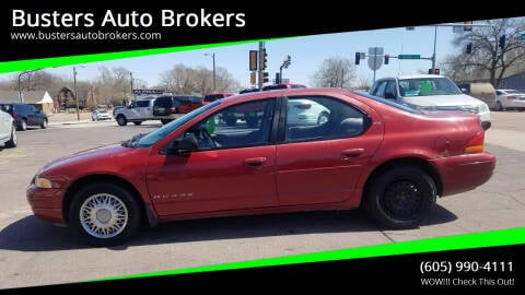 1998 Dodge Stratus for sale at Busters Auto Brokers in Mitchell SD