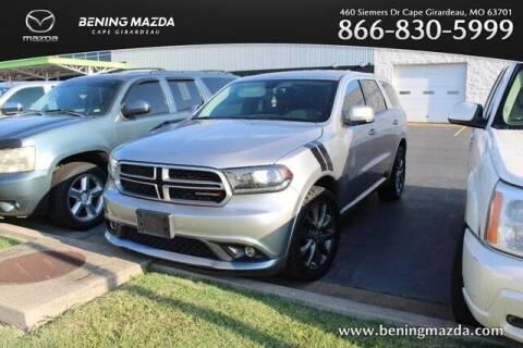 2018 Dodge Durango for sale at Bening Mazda in Cape Girardeau MO