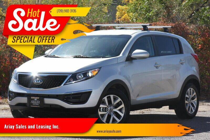 2016 Kia Sportage for sale at Ariay Sales and Leasing Inc. in Denver CO