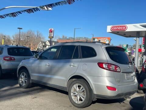 2011 Hyundai Santa Fe for sale at Capitol Hill Auto Sales LLC in Denver CO