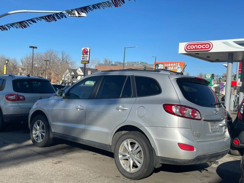 2011 Hyundai Santa Fe for sale at Capitol Hill Auto Sales LLC in Denver CO
