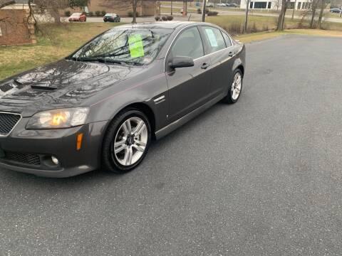 2008 Pontiac G8 for sale at Augusta Auto Sales in Waynesboro VA