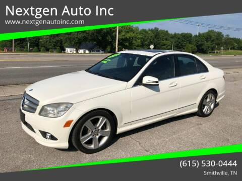 2010 Mercedes-Benz C-Class for sale at Nextgen Auto Inc in Smithville TN