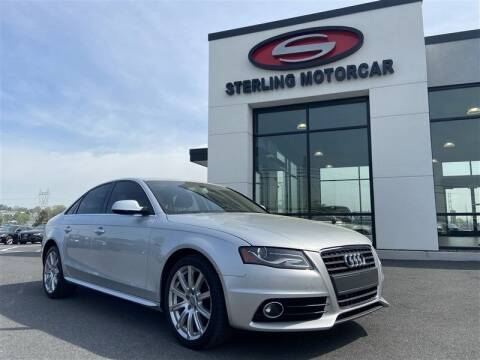 2012 Audi A4 for sale at Sterling Motorcar in Ephrata PA