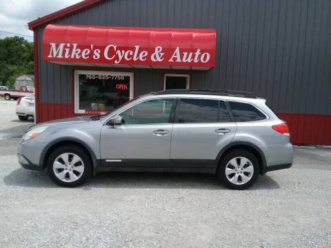 2010 Subaru Outback for sale at MIKE'S CYCLE & AUTO - Mikes Cycle and Auto (Liberty) in Liberty IN