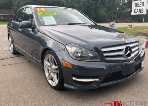 2014 Mercedes-Benz C-Class for sale at VSA MotorCars in Cypress TX