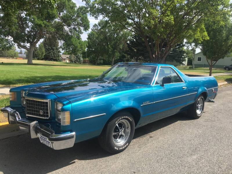 1977 Ford Ranchero for sale at Kevs Auto Sales in Helena MT