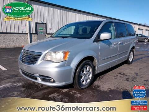 2011 Chrysler Town and Country for sale at ROUTE 36 MOTORCARS in Dublin OH
