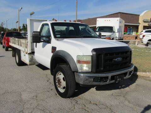 2008 Ford F-450 Super Duty for sale at Dealer One Auto Credit in Oklahoma City OK