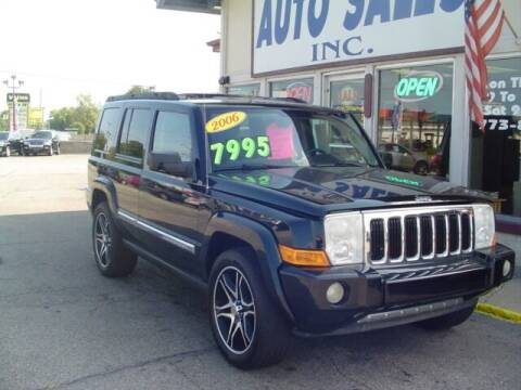 2006 Jeep Commander for sale at G & L Auto Sales Inc in Roseville MI