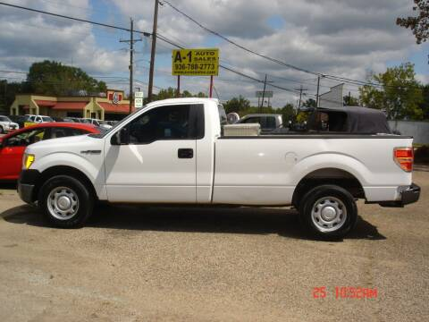 2013 Ford F-150 for sale at A-1 Auto Sales in Conroe TX