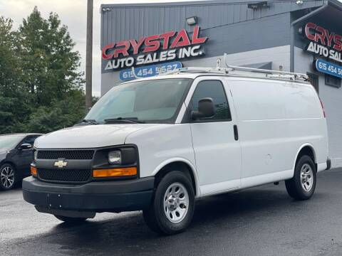 2013 Chevrolet Express Cargo for sale at Crystal Auto Sales Inc in Nashville TN