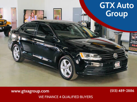 2016 Volkswagen Jetta for sale at GTX Auto Group in West Chester OH
