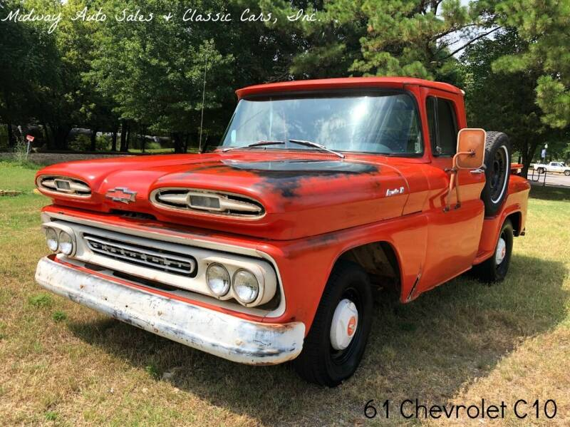 1961 Chevrolet C/K 10 Series for sale at MIDWAY AUTO SALES & CLASSIC CARS INC in Fort Smith AR