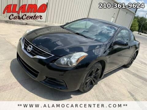 2010 Nissan Altima for sale at Alamo Car Center in San Antonio TX