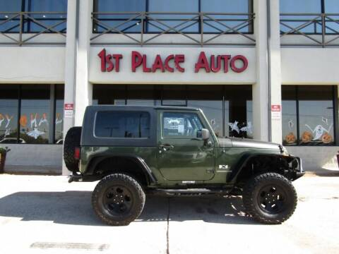 2008 Jeep Wrangler for sale at First Place Auto Ctr Inc in Watauga TX