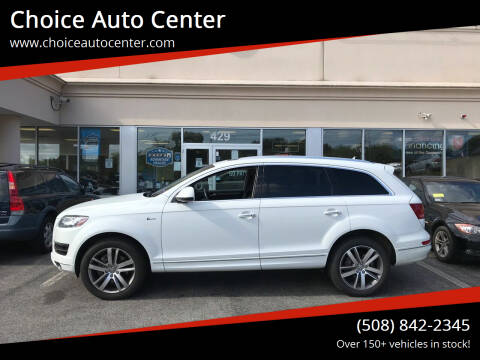 2015 Audi Q7 for sale at Choice Auto Center in Shrewsbury MA