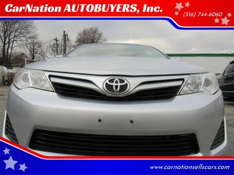 2012 Toyota Camry for sale at CarNation AUTOBUYERS, Inc. in Rockville Centre NY