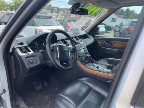 2007 Land Rover Range Rover Sport for sale at Car VIP Auto Sales in Danbury CT